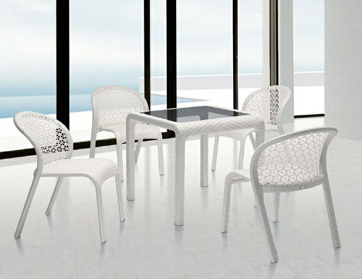 A compact dining set with unbelievable ergonomic comfort.   See more at http://bit.ly/1qQcqb9