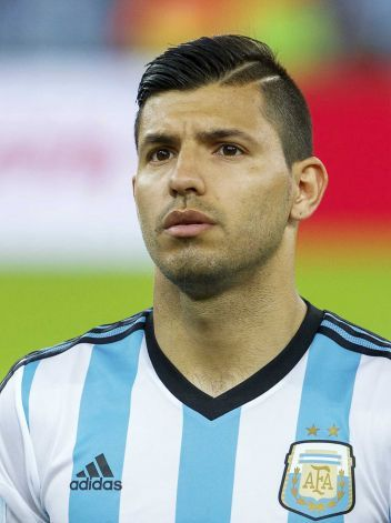 Group HipsterSergio Aguero, Argentina Photo: VI-Images, VI-Images Via Getty Images / 2014 VI-Images