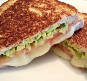 """Tomato & Avocado Grilled Cheese: """"This made for a fabulous lunch. I ..."""