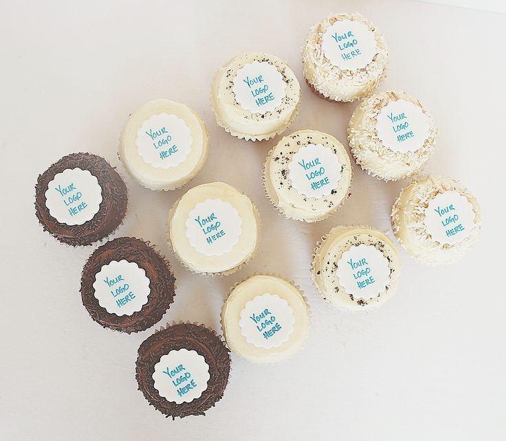 Logo Corporate Cupcakes by CarlasCakes best in Ottawa check out others at www.CarlasCakesOnline.com