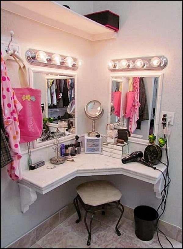 les 25 meilleures id es de la cat gorie coiffeuse d angle sur pinterest petit meuble d angle. Black Bedroom Furniture Sets. Home Design Ideas