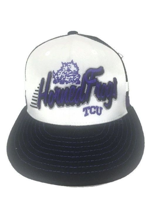 tcu baseball capacity hat stack rally caps horned frogs mesh trucker cap top of the world