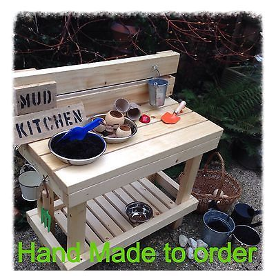 Mud Play Kitchen Outdoor childminder nursery parents eyfs ofsted garden