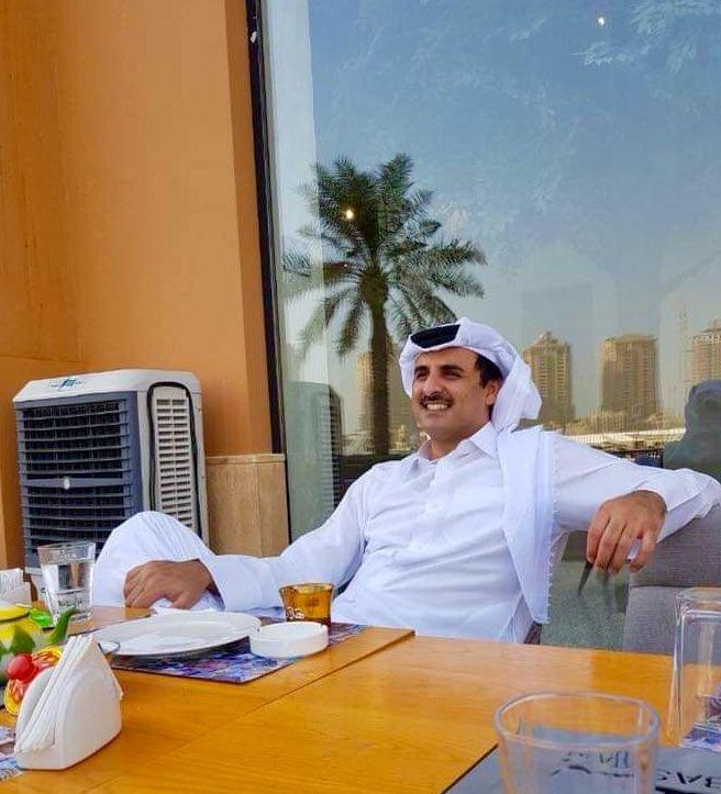 His Highness The Emir Sheikh Tamim Bin Hamad Al Thani Doha Qatar سمو الشيخ تميم بن حمد بن خليفة آل ثاني أمير دولة قطر Keep Calm And Love Qatar Calm
