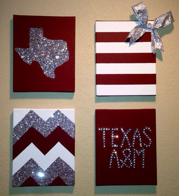 Fill your walls with Aggie Spirit!