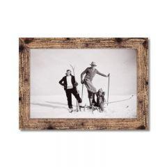 Altholz-Bilderrahmen 20x30 cm