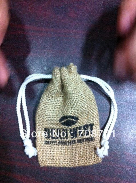 "Aliexpress.com : Buy SIZE:3""W X 5""H,FREE SHIPPING JUTE BAG,NATURE JUTE BURLAP DRAWSTRING GIFT BAG( FREE 1SIDE 1COLOR PRINT),CUSTOM BAG ACCEPT from Reliable jute bag suppliers on LIVE GREEN BAGS $85.00"