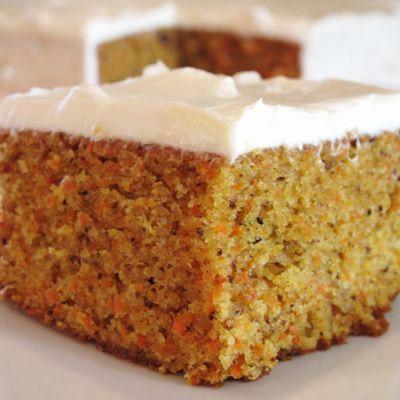 Carrot cake                                                                                                                                                                                 Plus