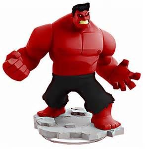 Disney Infinity 2.0 - Red Hulk by MechanicOrga