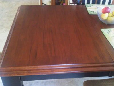Fixing A Wood Table With A Nail Polish Remover Stain Cleaning Painted Walls Clean Dishwasher