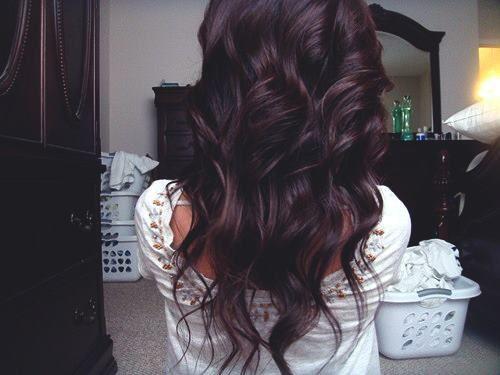 Dark Brown Hair With Purple Undertones - 28.5KB