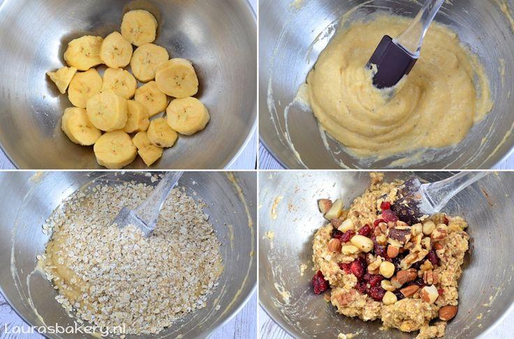 havermout banaan koekjes - Laura's Bakery