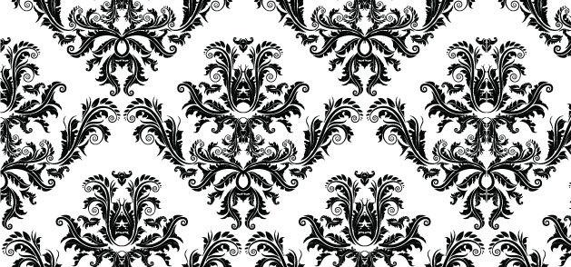 Free Damask Pattern Vector