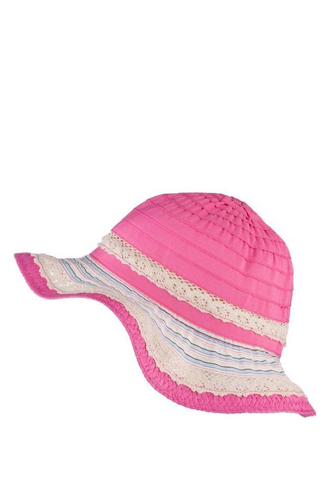 2017 Yazlık El Örgüsü Kız Çocuk Şapkaları