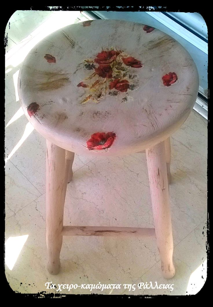 Decoupage. Find This Pin And More On Ralliau0027s Handmade Home Deco ...