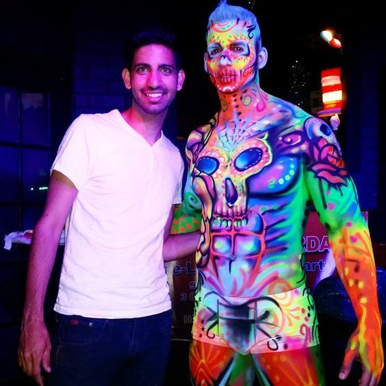 Avi on skin wars