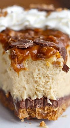 Caramel Toffee Crunch Cheesecake                                                                                                                                                                                 More
