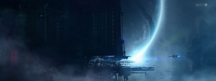 spaceship : High Definition Background 2200x825