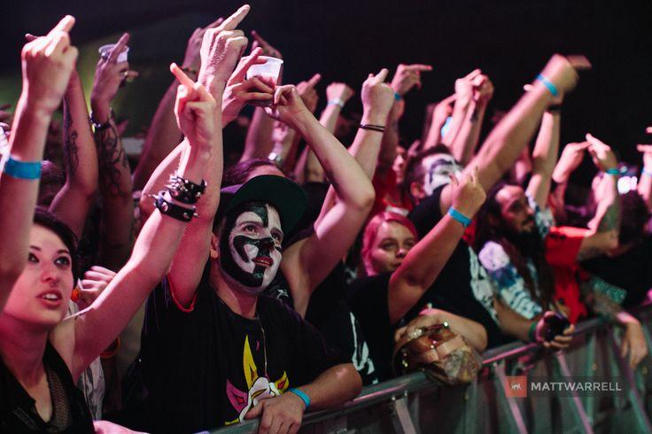 Photos from Insane Clown Posse's 2013 Australian Tour. Photography by Matt Warrell, an Australian Macro and Live Music Photographer.