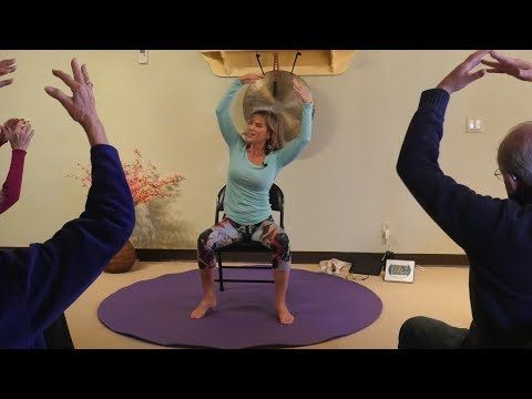 """Happy Together"" A Chair Yoga Dance We all Can Do Together! with Sherry Zak Morris - YouTube"