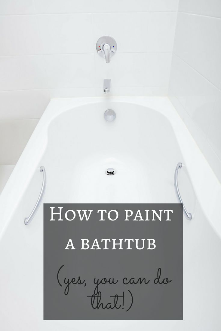 DIY Money Saving Home Repairs Bathtub Tutorials And House - Can a tub be painted