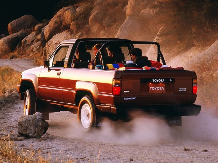 I eventually want one of these... Toyota 4Runner (1984 – 1986).