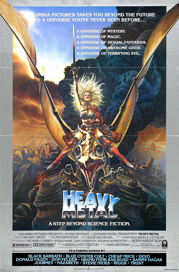 Heavy Metal (1981) Artist: Chris Achilleos
