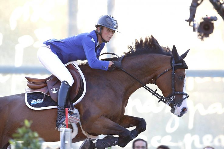 Penelope Leprevost on Ratina d'la Rousserie - Paris 2015 - LONGINES GLOBAL CHAMPIONS TOUR