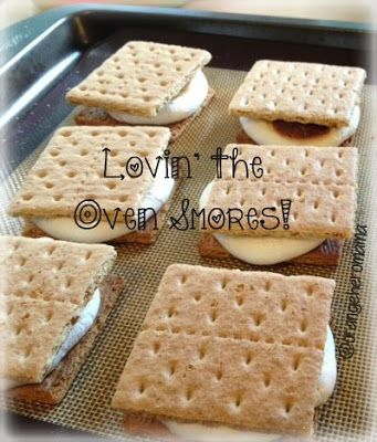 no campfire? Smores...in the oven! YUM!