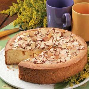 Creamy Peach Coffee Cake Recipe  Delicious!