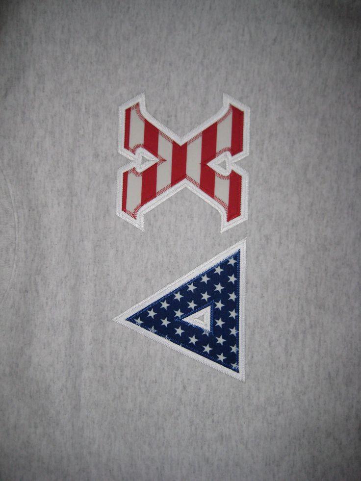28 best greek letter shirts images on pinterest greek for Sorority sewn on letters
