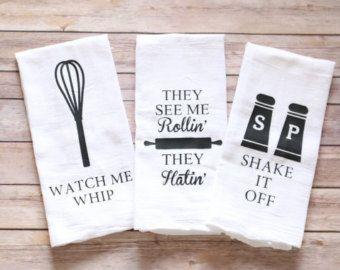 Tea towels song lyric tea towels funny tea towels by A2DCreations