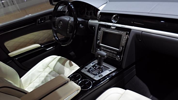 Intérieur Phaeton #VW #GENEVAMOTORSHOW 2013