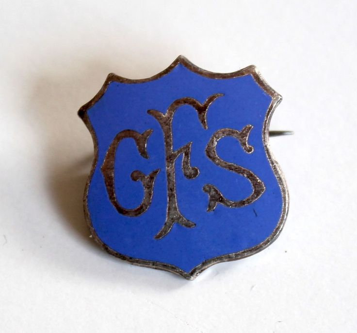 GFS Girls Friendly Society Badge Stokes Melbourne Pin Lapel Brooch