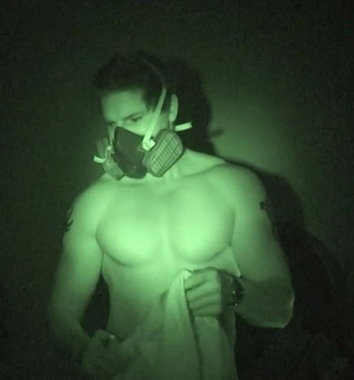 Zak Bagans - Ghost Adventures.  He`s hot.  He`s a warrior type personality and he`s very candid on TV.