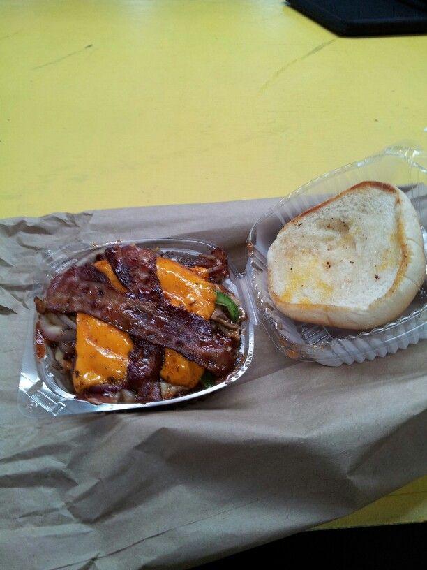Big AL burger at Al JUe ASK 4