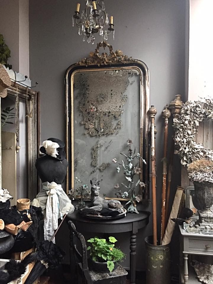 french shabby chic...