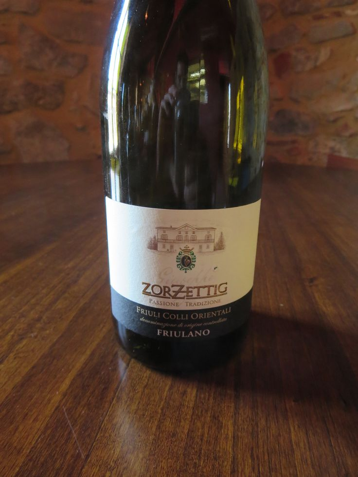 """Zorzettig Friulano  Winemaker's notes: """"The bouquet...is intense, fine and complex. Distinctly minerally with elegant aromatic overtones. The...soft and warm taste reveals ample freshness and tanginess, whilst the finish accompanies a light bitter almond taste identifying the peculiarity of the wine variety.""""  It was balanced, harmonious, but didn't really offer anything worth talking about as the aromas were faint and the palate was scarce. BP: Skip"""