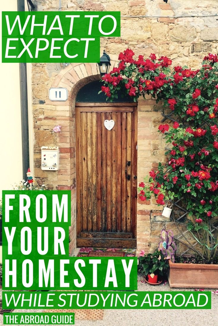 What to expect from your homestay experience while studying abroad. What will your homestay family be like? What will your hosts expect you to do? What to know about living in a homestay during study abroad.