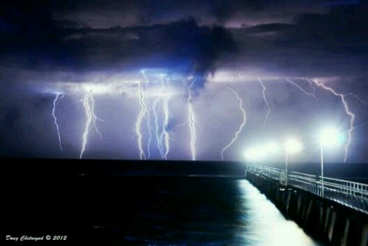 Port noarlunga jetty,Australia ..August 5 2012