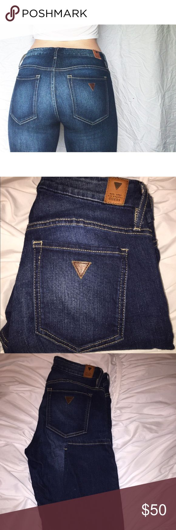Guess Jeans Dark Rinse Guess Skinny Jeans Guess Jeans Skinny