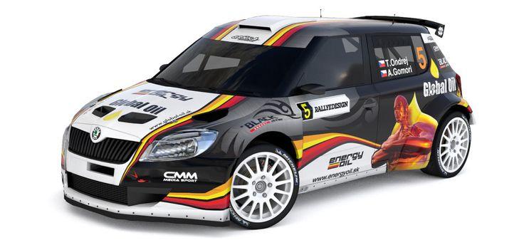 Srnka Motorsport - Škoda Fabia S2000 - design and wrap.