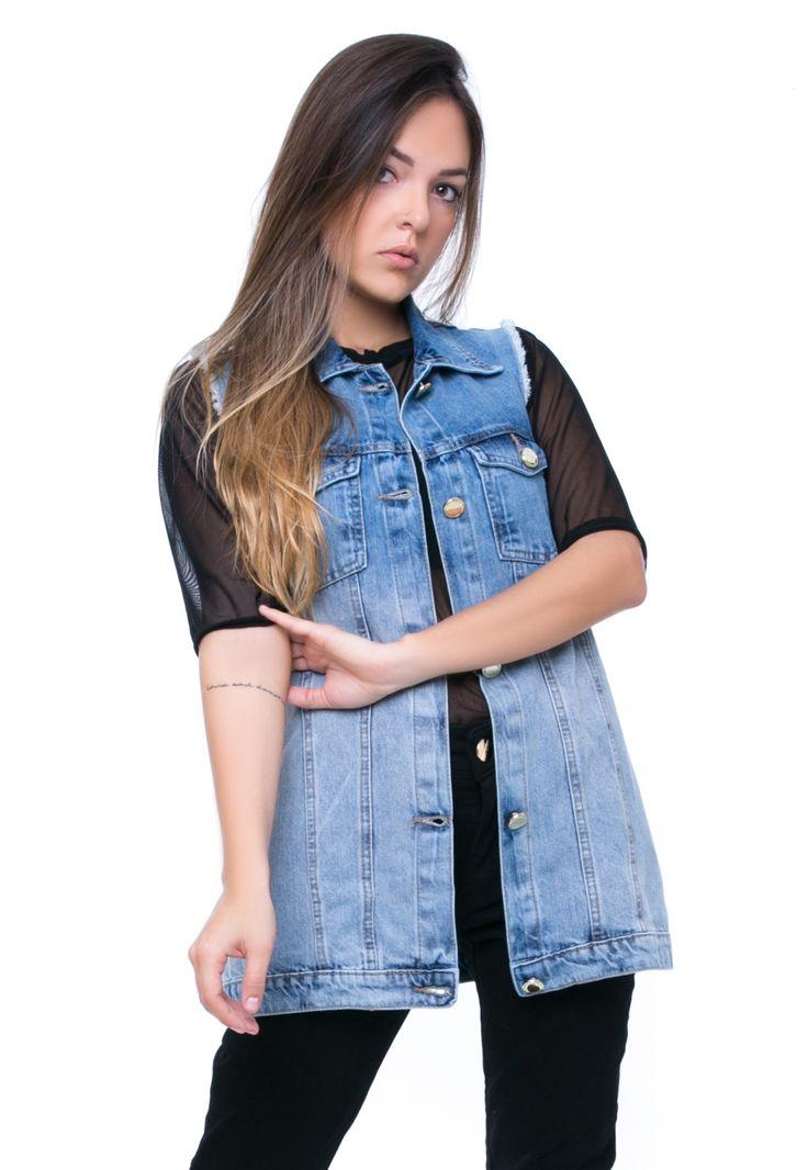Maxi Colete PKD Concept Jeans | Products | Jeans, Vest, Denim