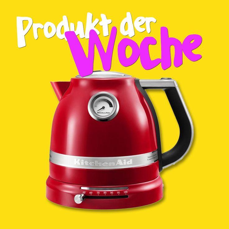 Bist du auf der Suche nach einem Designstück für deine Küche? Dieser robuste KitchenAid Wasserkocher mit einstellbarer Temperatur für deinen morgendlichen Grüntee oder Kaffee ist die richtige Wahl! Stöber online bei uns und finde die passende Farbvariante für deine Küche!