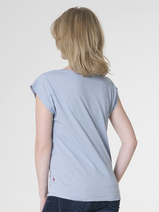 Damski T-shirt polo ze sklepu BigStar