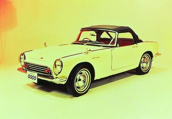 The S500 (1963), a vintage Honda car. http://www.miltonmartinhonda.com/
