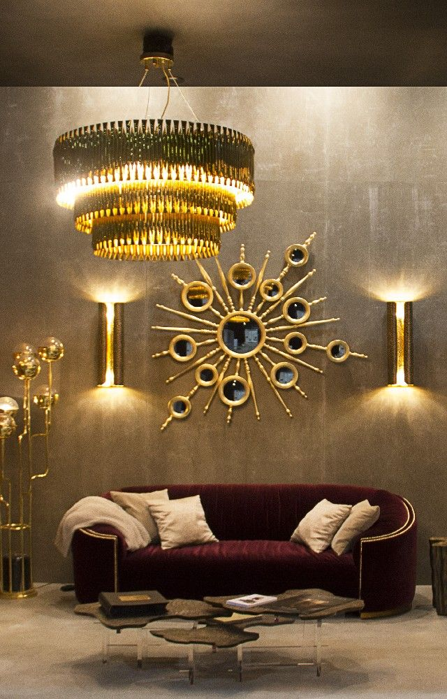 Great HOW TO GET A LUXURY LIVING ROOM PT 1: GOLDEN LIGHTING Part 25