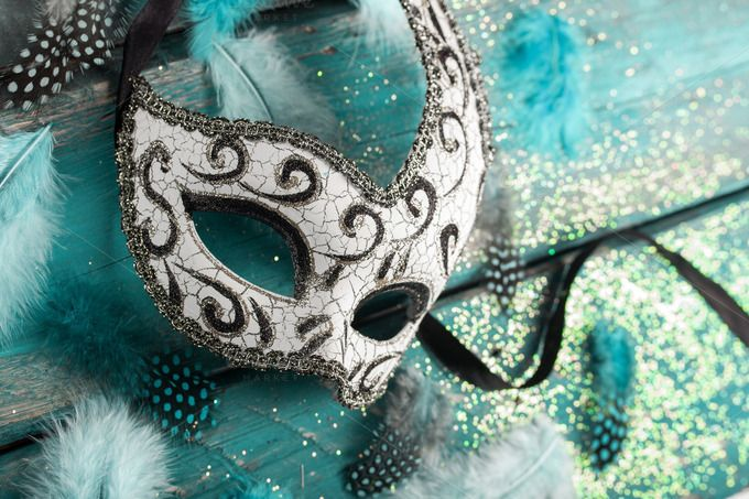 carnival mask by peterzsuzsa on Creative Market
