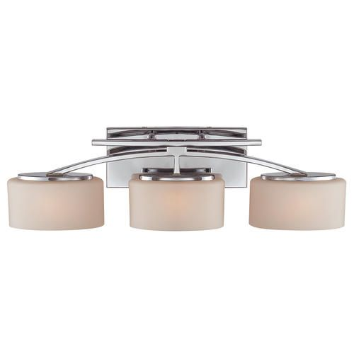collection 3 light 25 5 polished chrome bath fixture at menards