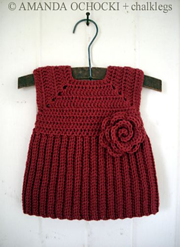 Ravelry: Project Gallery for Baby Ribbed Jumper Dress & Pinafore pattern by Thomasina Cummings Designs